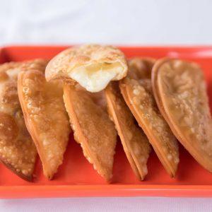 Pasteis de Queijo - - Porção com 6 unid. - 120g
