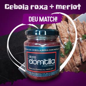 Geleia de Cebola Roxa com Merlot 240g